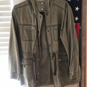 Hooded Cargo Jacket